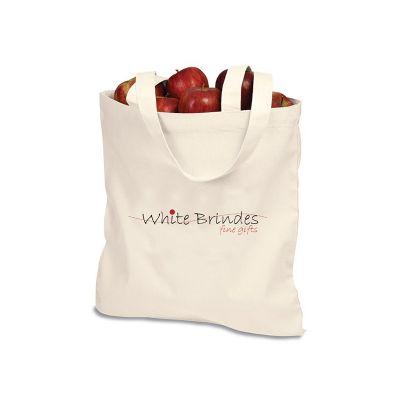 Store Gift - Sacola ecobag, Lona 100% algodão cru. Medidas: 30 x 35 cm