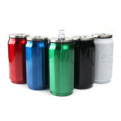 Store Gift - Squeeze de metal 275 ml Brilhante.