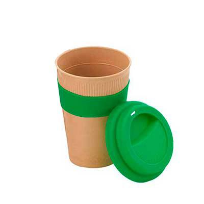 Line Brindes - Copo em fibra de bambu 450 ml