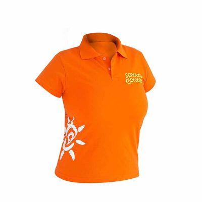 Line Brindes - Camisa Polo Feminina