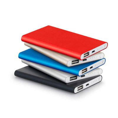 line-brindes - Bateria portátil Power Bank Slim