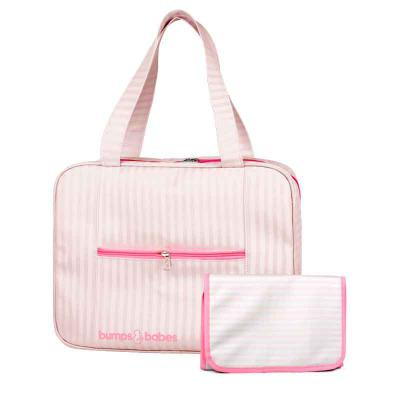 i9-promocional - Kit bolsa maternidade com trocador
