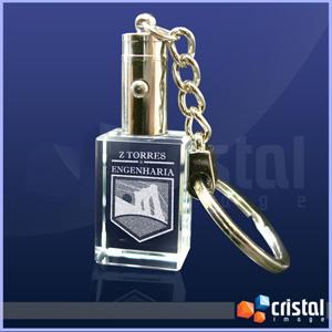 Cristal Image - Chaveiro Personalizado
