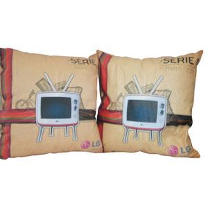 Stantex Soluções Têxteis - Almofada em tecido com gravação personalizada.