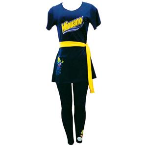 Stantex Soluções Têxteis - Bata com gravação personalizada e calça legging.