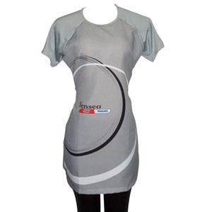 Stantex Soluções Têxteis - Bata com cordão em Oxford, gravação personalizada e calça legging.