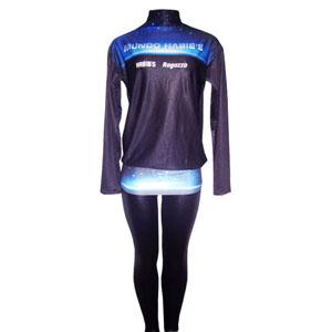 Stantex Soluções Têxteis - Blusa gola alta com gravação personalizada e uma calça legging.