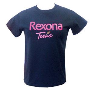 Stantex Soluções Têxteis - Camiseta de algodão com modelo baby look e gravação personalizada.