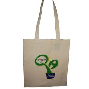 Stantex Soluções Têxteis - Eco bag de algodão cru com gravação personalizada.