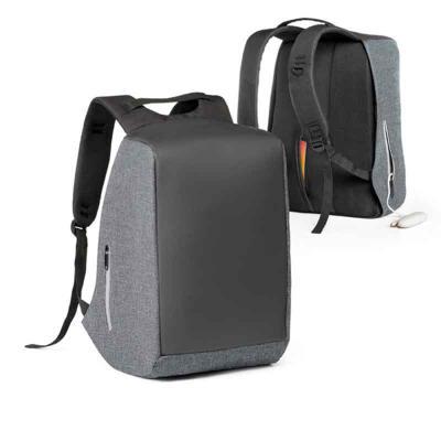Pratic Brindes - Mochila para notebook com sistema anti-roubo: compartimento principal com zíper oculto e parte posterior com 2 bolsos ocultos com zíper para maior seg...