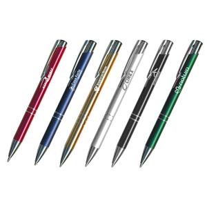 Pratic Brindes - Caneta metal várias cores - personalizada a laser ou tampografia