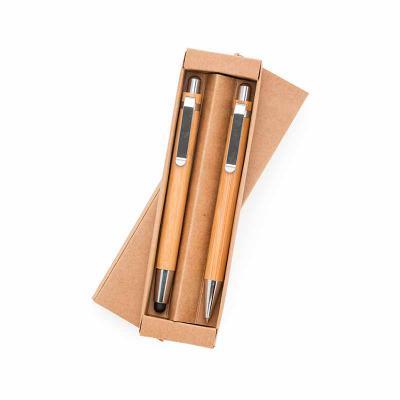 Pratic Brindes - Conjunto Bambu Ecólogico