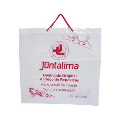 Ecobela Embalagens - Sacolas plásticas alça cordão