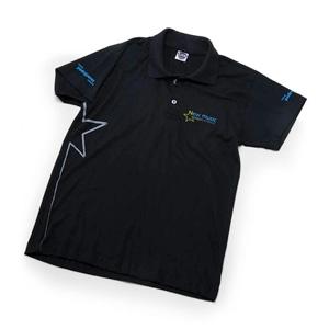 MGM Brindes - Camisa polo 100% em algodão, com impressão personalizada em silk.