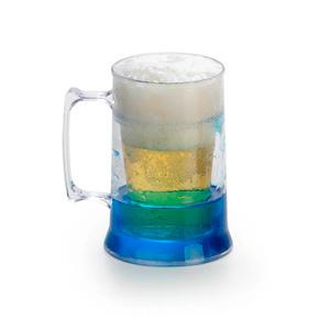 MGM Brindes - Caneca de chop confeccionada acrílico com gel.