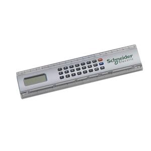 MGM Brindes - Régua com calculadora e impressão personalizada.
