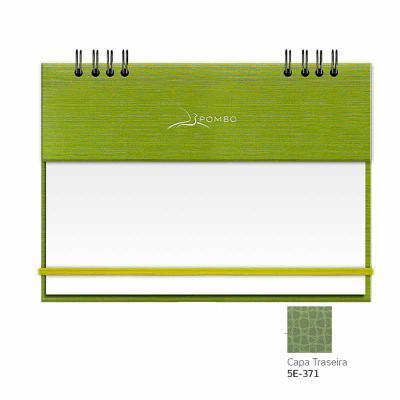 """POMBO - RISQUE & RABISQUE - MODELO 904 - CAPA A1 ÍNDIA - Capa com base em papel, com textura (tecido Shantung: aspecto de pequenos """"arranhões""""). - Capa diante..."""