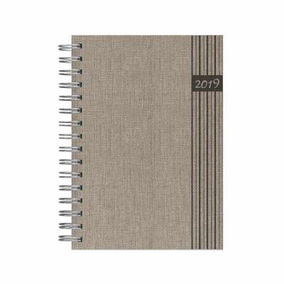 Pombo Lediberg - Agenda executiva Pombo Lediberg com capa 27 Jeans. Opções: diária e semanal. Produto certificado FSC.