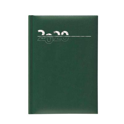 POMBO - AGENDA POMBO BÁSICA DIÁRIA, SEMANAL OU MENSAL - MODELO G2 PAROS - Capa com base de papel lisa revestida em PVC (película plástica protetora), enverniz...