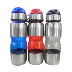 GTX Brindes - Squeeze de acrílico e inox, com capacidade para 450 ml.