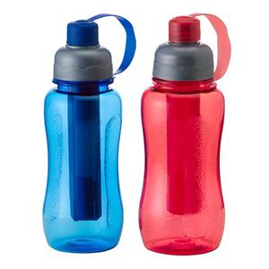 GTX Brindes - Squeeze para brindes, modelo ice bar 400 ml, com parte interna removível para resfriamento. Brindes para verão. Adquira já o seu!