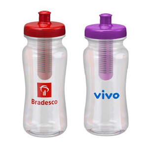 GTX Brindes - Squeeze PET com filtro e capacidade para 600 ml.