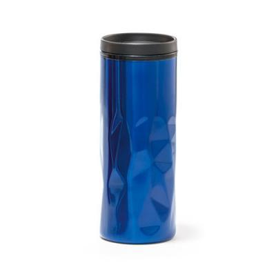 Click Promocional - Aço inox e PP.  Com parede dupla, tampa e antideslizante na base.  Capacidade: 520 ml.  Food grade.  ø72 x 184 mm