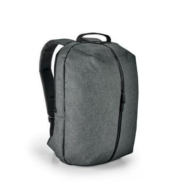 Click Promocional - 600D de alta densidade.  Com 2 compartimentos.  Compartimento posterior forrado, com diversos bolsos interiores e 2 divisórias almofadadas para notebo...