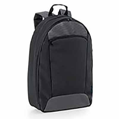 Click Promocional - 600D2Tone e 300D.  Compartimento com divisória almofadada para notebook até 14''.  Interior forrado e almofadado, com diversos bolsos.  Bolso frontal....