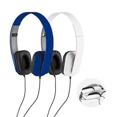 Click Promocional - Fone de Ouvido Dobrável  97321  Fone de ouvido dobrável. ABS. Cabo de 1,45 m com ligação stereo de 3,5 mm. Fornecido em caixa de oferta.  Fechados: 10...