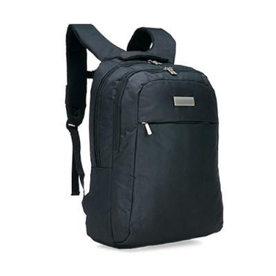 Click Promocional - •Mochila em Nylon Rip Stop na cor Preta; •01 Bolso grande com Compartimento acolchoado para notebook de até 15,6'; •01 Bolso grande com zíper; •01...