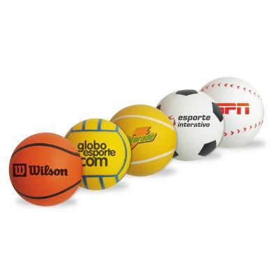 Maggenta  Produtos Promocionais - Bolinha anti-stress modelo esportes, basketball, tênis, baseball e volley produzida em vinil Ideal para personalizar seu logotipo.