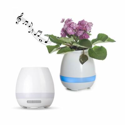 Maggenta  Produtos Promocionais - Caixa de Som Bluetooth Vaso de Planta Personalizado 1