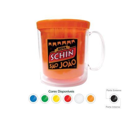 Maggenta  Produtos Promocionais - Caneca Térmica Cristal Color 300ML Promocionais 1
