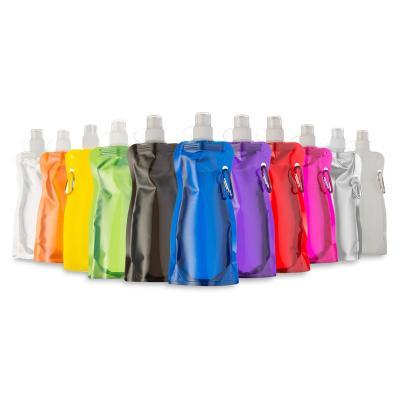 Maggenta  Produtos Promocionais - Squeeze Dobrável de Plástico 480ml 1