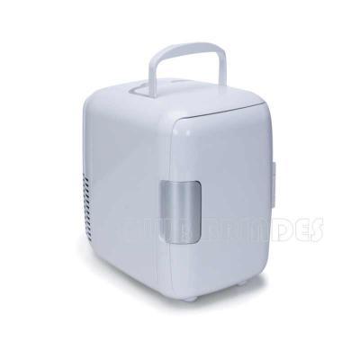 Club Brindes - Mini geladeira plástica portátil 4 litros