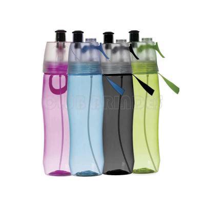 Club Brindes - Squeeze Plástico 700ml Brilhante com Borrifador