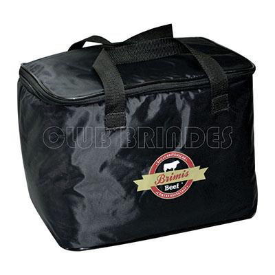 Club Brindes - Bolsa Térmica 15 Litros - Aproximadamente 32 X 22 X 22 cm, disponível em várias cores