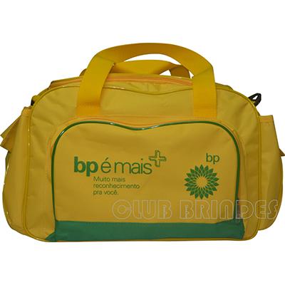 Club Brindes - Bolsa de viagem, disponível em várias cores.