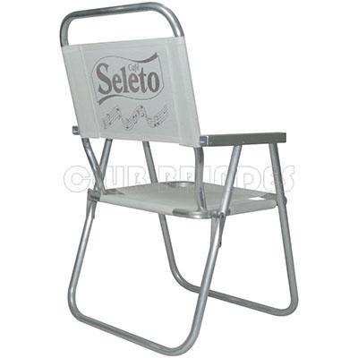 club-brindes - Cadeira de praia alta