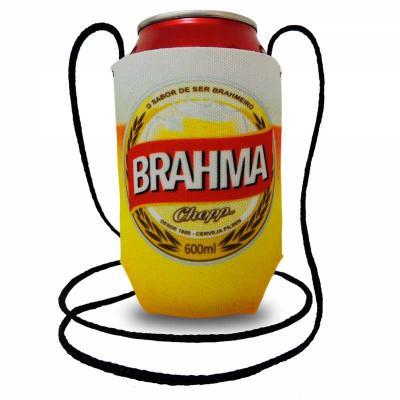 Finaú Brindes Promocionais - Porta latas com cordão