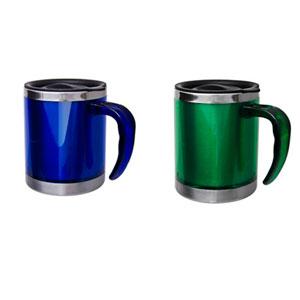 Finaú Brindes Promocionais - Caneca personalizada em acrílico - Capacidade de 400 ml.