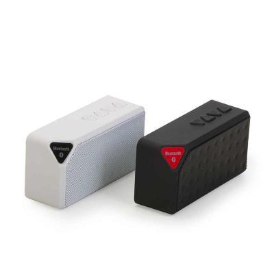 Finaú Brindes Promocionais - Caixa de som multimídia, rádio FM, alto falante de 80db, bluetooth 2.1, entrada USB, entrada micro SD, função atende chamadas, acabamento emborrachado...