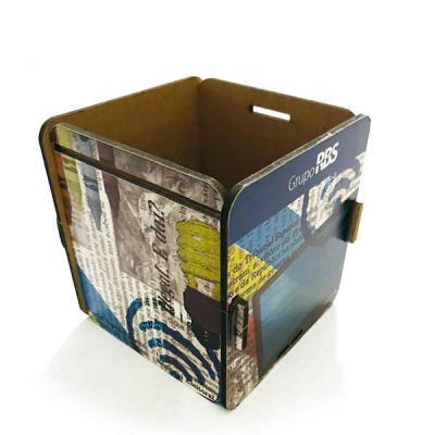 Printas - Caixas em MDF impresso, personalizadas no formato e na impressão, para entregar o seu brinde e destacar a sua marca.
