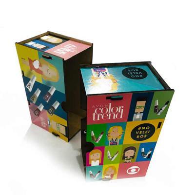 Printas - Caixas de MDF personalizadas no formato e na impressão, para entregar o seu brinde e destacar a sua marca.