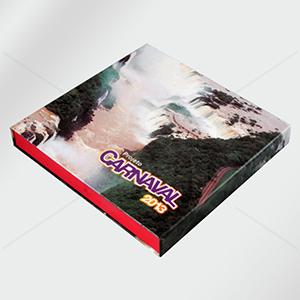 Craft House Brasil - Caixa de papelão rígido, cartonada, impressão 4 cores e acabamento. Embalagem para brinde corporativo. Impressão e medidas personalizadas