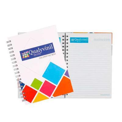 Layout Brindes - caderno  executivo  miolo com logo