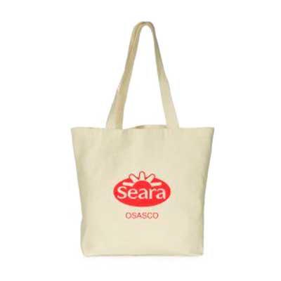 Layout Brindes - Ecobag em algodão cru ou lonita