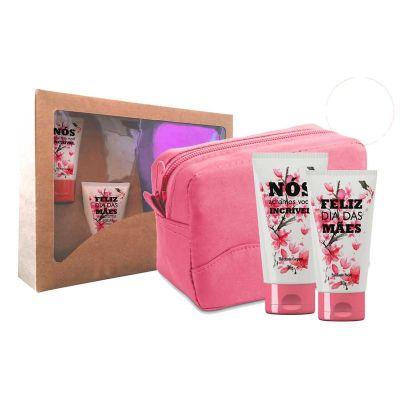 Nexo Brindes - Kit cosméticos + necessaire