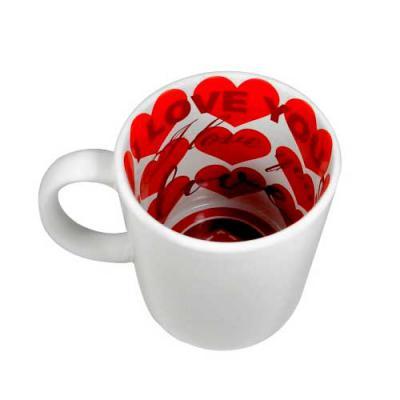 Nexo Brindes - Caneca de Cerâmica Love  Dimensões: Altura: 9 cm    Diâmetro: 8 cm  Área de Gravação: 19x8 cm  Capacidade: 325 ml  SUA MARCA APLICADA EM: Sublimação
